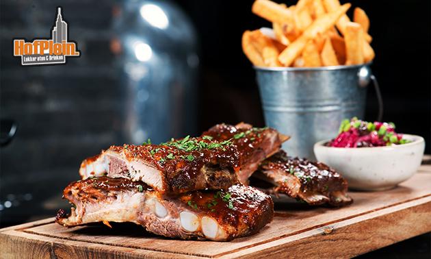 All-You-Can-Eat spareribs bij Grand Café Hofplein