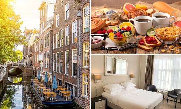 Luxus Übernachtung für 2 + Frühstück im Herzen von Delft