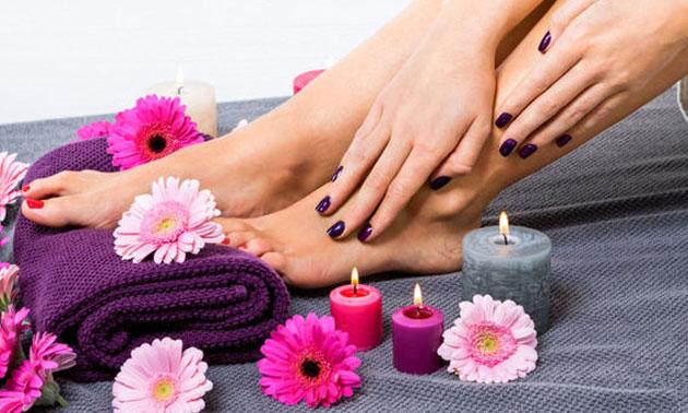 Spa-manicure- of pedicurebehandeling