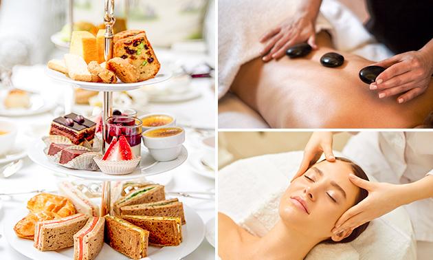 Wellnessarrangement incl. high tea + massage + styling