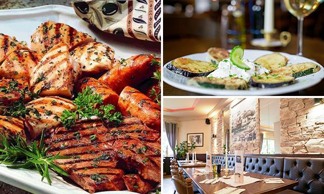 5-Gänge-Menü nach Wahl bei Restaurant Hellas