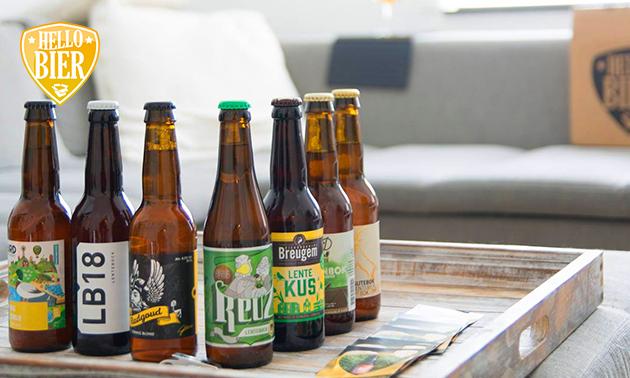 Bierproeverij (20 of 30 speciaalbieren) bij jou thuis
