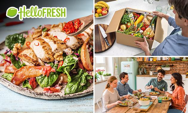 1 oder 2 Kochboxen von HelloFresh