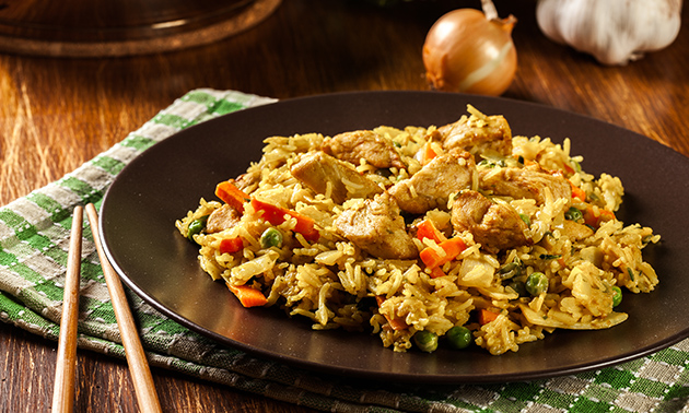 Chinese lunch + frisdrank