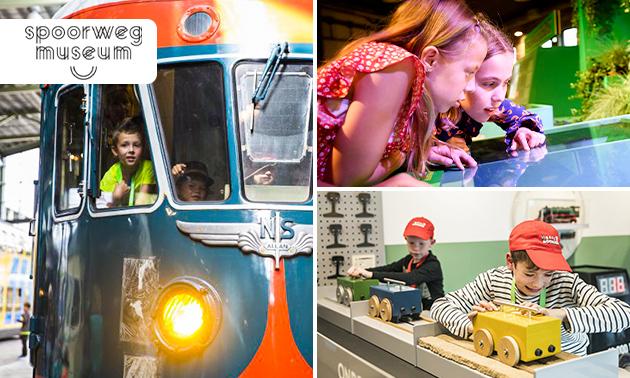 Eintritt ins Eisenbahnmuseum, Spoorwegmuseum