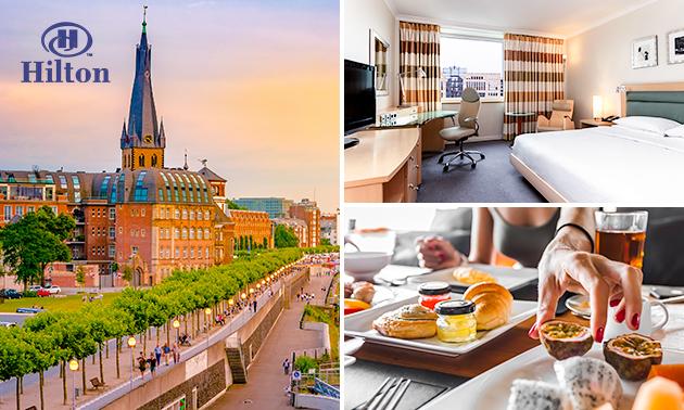 Übernachtung(en) + Frühstück im Hilton Düsseldorf