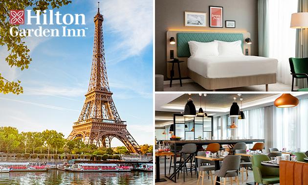 Übernachtung + Frühstück für 2 bei Paris
