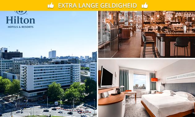 VIP-overnachting + ontbijt voor 2 in hartje Rotterdam
