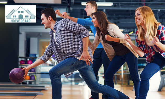 2 Stunden Bowling (1 - 8 Pers.) bei Hoeve de Aar