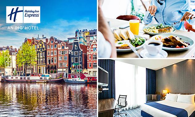 Übernachtung + Frühstück + Parken für 2 in Amsterdam