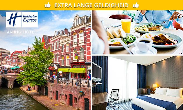 Overnachting + ontbijt voor 2 personen nabij Utrecht