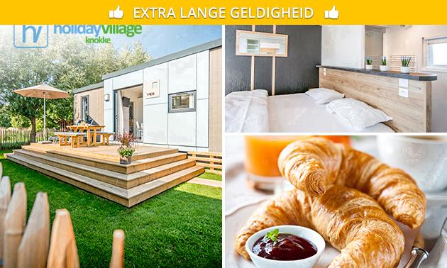 Übernachtung + Frühstück für 2 oder 4 in Knokke