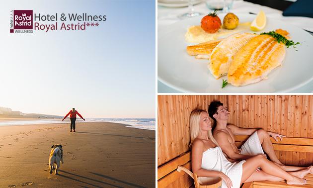 Übernachtung(en) für 2 + Wellness in Oostende