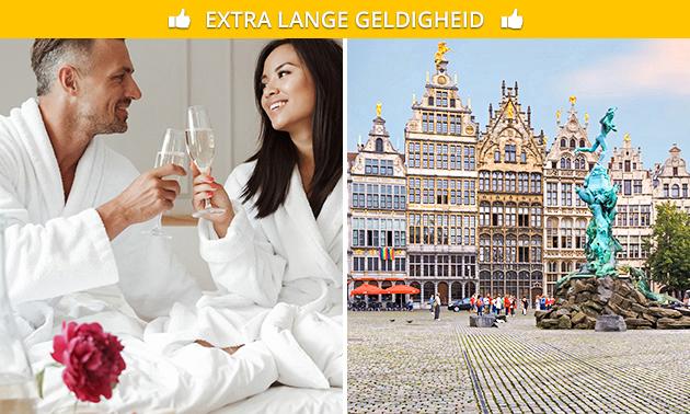 Übernachtung für 2 + Sekt im Herzen von Antwerpen