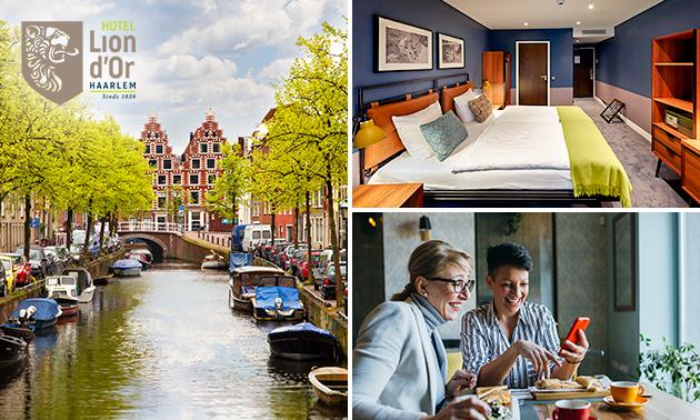 VIP-Übernachtung für 2 in Haarlem + Frühstück + Häppchenplatte