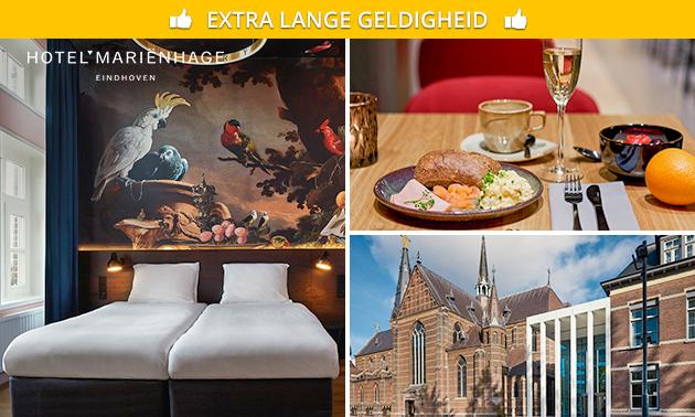 Overnachting voor 2 in hartje Eindhoven