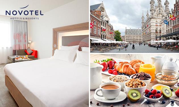 Luxus Übernachtung(en) für 2 + Frühstück + Late Check-out in Leuven