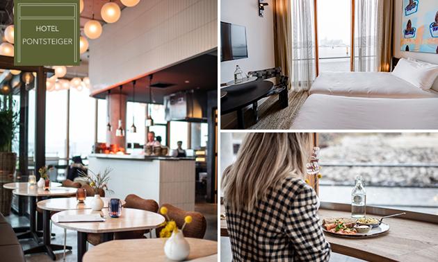 Luxe overnachting voor 2 + drankje + ontbijt in Amsterdam