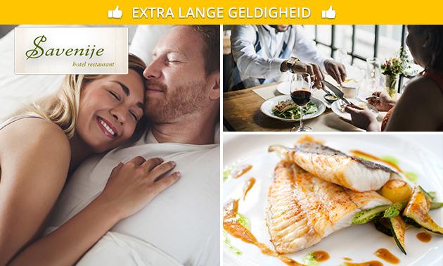 Overnachting + ontbijt voor 2 in Twente