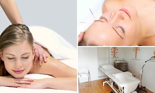 Massage(s) of acupunctuurbehandeling(en)