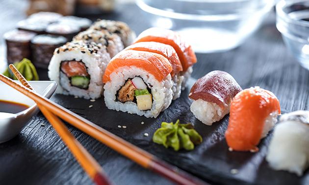 Afhalen: sushibox (20 of 42 stuks) van Iku Sushi