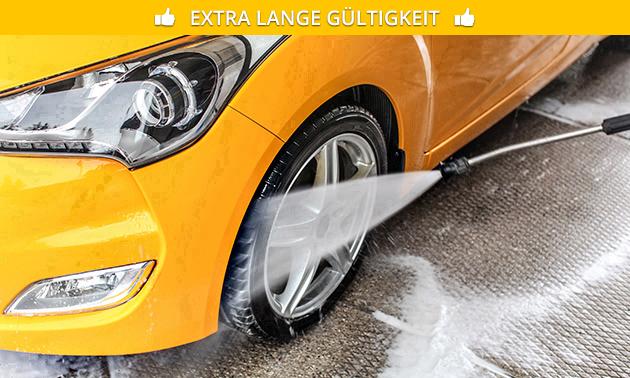 Komplette Autowäsche bei IMO Car Wash