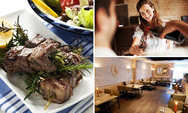 Grieks diner + ouzo bij Imroz