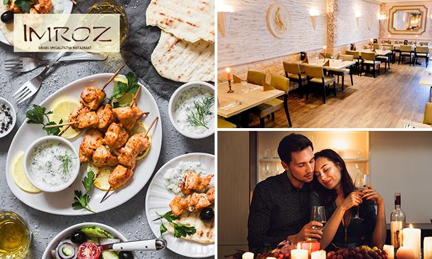 Afhalen: Grieks diner + ouzo bij Imroz