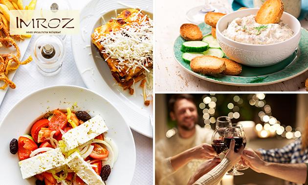 Afhalen: Grieks diner bij Imroz