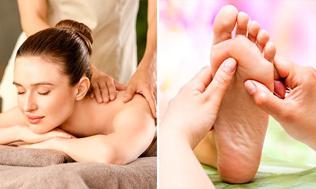Massage naar keuze (45, 60 of 90 min)