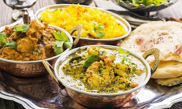 3-Gänge-Menü nach Wahl im Indian CurryHouse