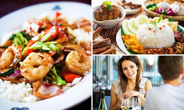 Thuisbezorgd of afhalen: Indonesische rijsttafel bij Deli