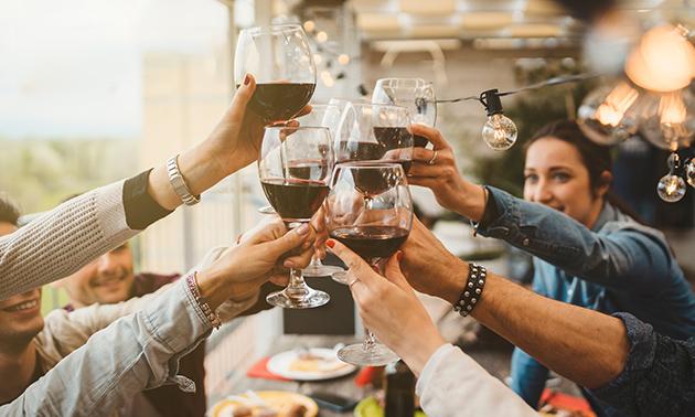 Weinverkostung bei Dir zu Hause (4, 6 oder 8 Personen)