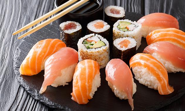 Afhalen: sushibox (24 stuks) bij Isimo