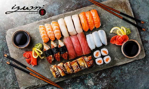 Afhalen: sushibox naar keuze of pokébowls bij IZUMI