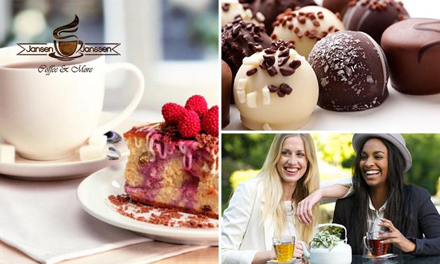 Thee + gebak en meer voor 2 personen in hartje Heerlen