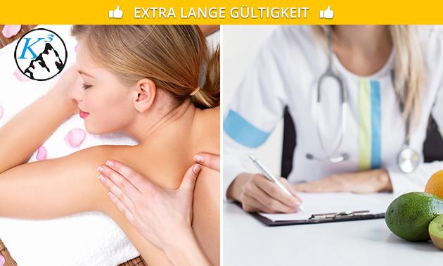 Massage nach Wahl + Gesundheitscheck