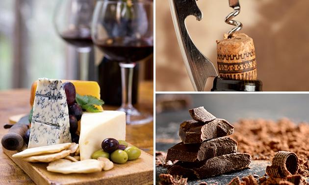Waardebon voor kaas, wijn en delicatessen