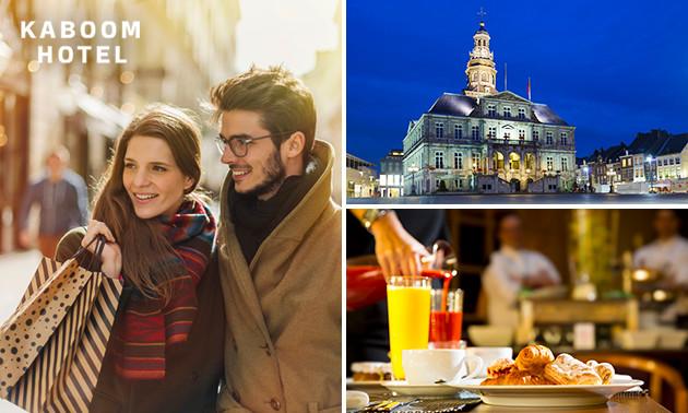 Übernachtung + Frühstück für 2 im Herzen von Maastricht