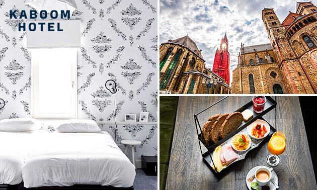 Übernachtung für 2 oder 4 + Wellness im Herzen Maastrichts