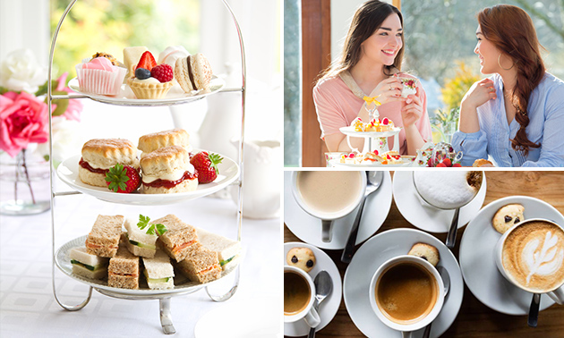 High tea + special coffee in hartje Zwolle