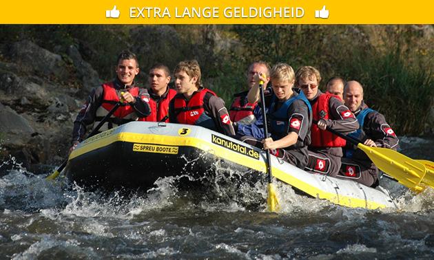 Rafting Tour über 12 Km für 2 Personen