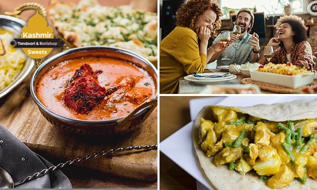 Thuisbezorgd of afhalen: roti of curry + drankje