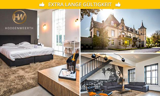 Übernachtung(en) für 2 im Schloss in Maastricht