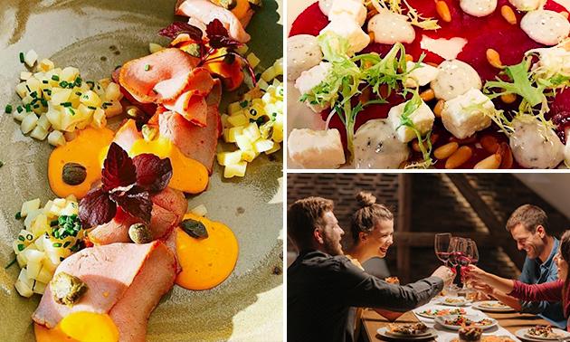 Afhalen: 3- of 4-gangen shared dining
