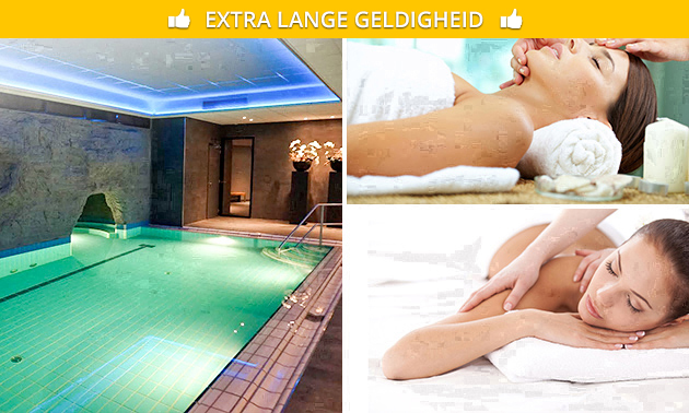 Wellnessarrangement bij Kasteel Vaalsbroek