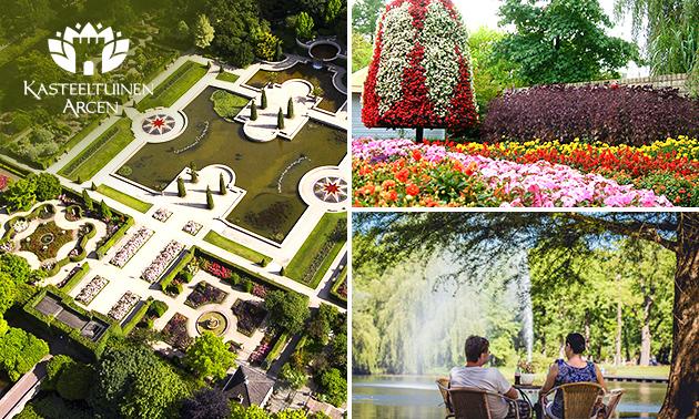 Tageseintritt in die Arcener Schlossgärten