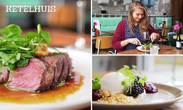 3- of 4 rondes shared dining bij Ketelhuis Lent