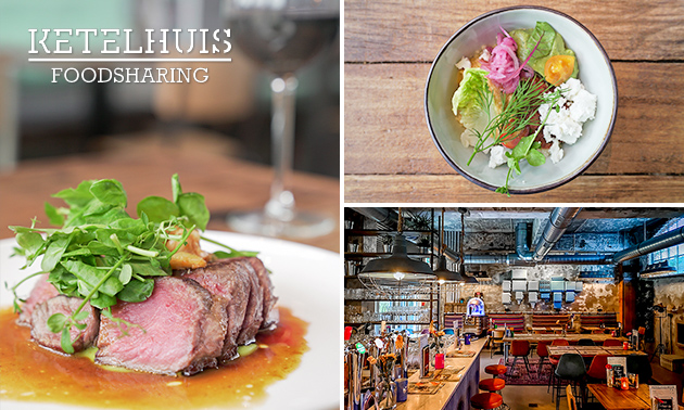 3 rondes shared dining bij Ketelhuis Lent