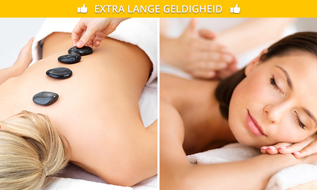 Ontspanningsmassage of hotstonemassage